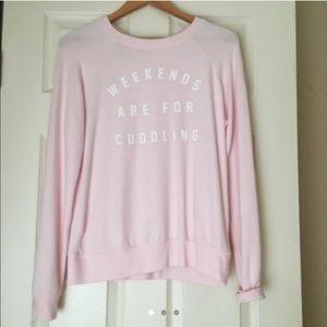 Weekends are for cuddling Sweatshirt 💘